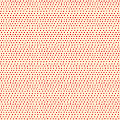 Seamless pattern with red dots