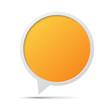 3D bubble talk frame. Design element , Illustrator EPS10