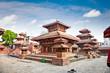 Durbar square in Kathmandu valley, Nepal.