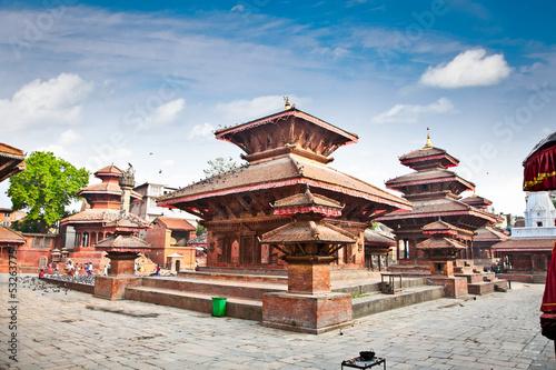 Fotobehang Nepal Durbar square in Kathmandu valley, Nepal.