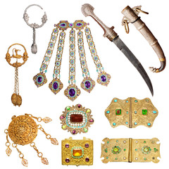 old jewelery set