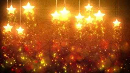 Stars decorations loop