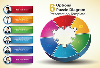 Six sided presentation template