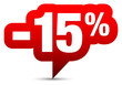 "Icon Sale ""-15%"" Red"