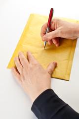 Writing on Envelope