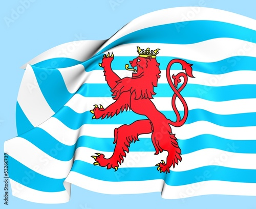 Civil Ensign of Luxembourg
