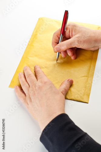 Writing on Envelope