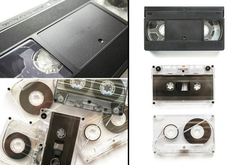 Set of tapes
