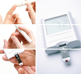 Medical Collage for Diabetes