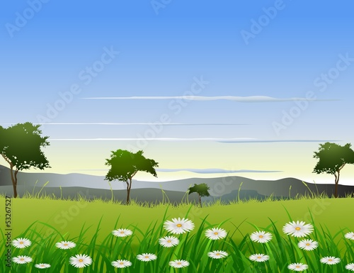 beauty nature background