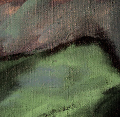 abstract painting in it is grey green quiet tones, illustration,