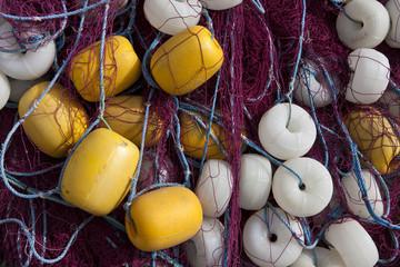 Heap of Commercial Fishing Net.