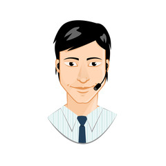 Customer service avatar
