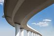 Leinwanddruck Bild - Freeway span