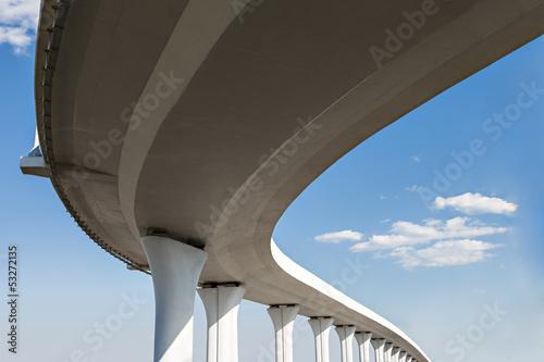 Leinwanddruck Bild Freeway span