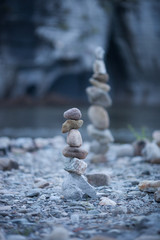 towers of stones in balance