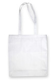 Nonwoven bag on white