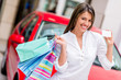 Shop with credit card and win a car