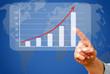 Sales Diagram - Global Business Success