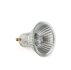 Halogen lamp isolated