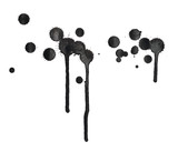 Black ink spot stain composition