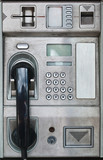 Public payphone card telephone