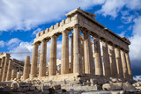 The Parthenon, in Athens, Greece