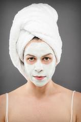 Beauty Mask Portrait