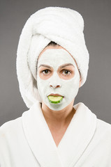 Beauty Mask Cucumber Mouth