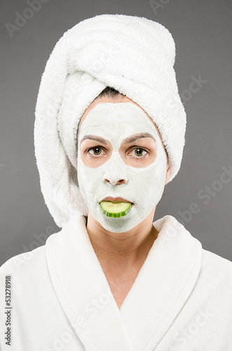 Beauty Mask Cucumber Mouth