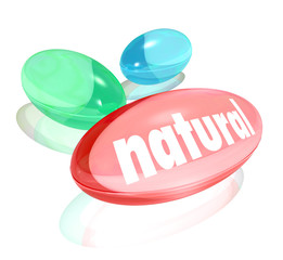 Natural Organic Supplements Vitamins Healthy Life Improvement