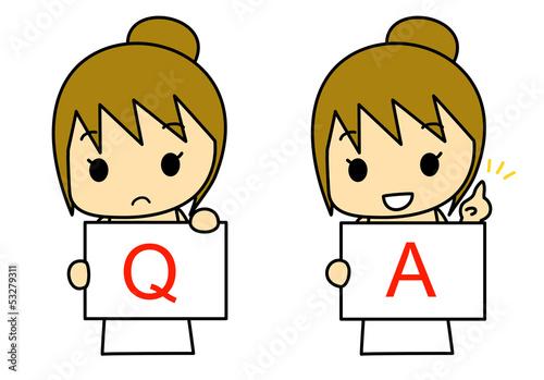 Q&A 女性