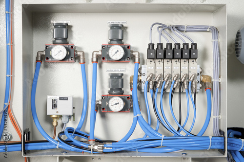 Machine electrical panel - 53281390