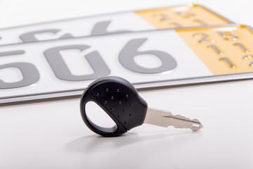Autoschlüssel Kurzzeitkennzeichen
