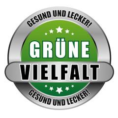 5 Star Button grün GRÜNE VIELFALT GUL GUL