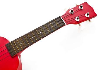 Red Ukulele guitar