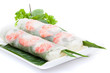 canvas print picture - Vietnamese spring roll
