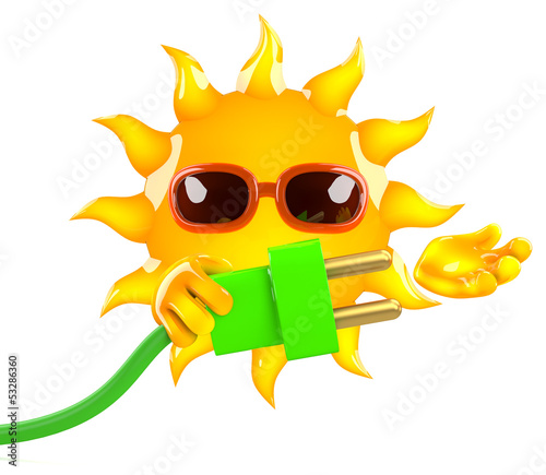 Sunshine is plugged in