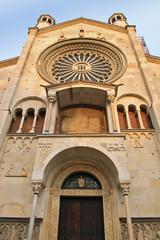 Modena, facciata del duomo
