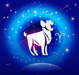 Zodiac Background: The Aries