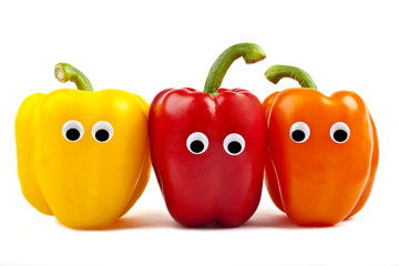 Bell Pepper Characters