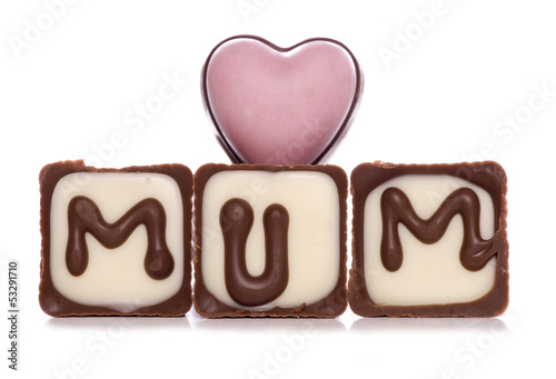 love mum chocolates