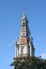 Old Church Tower of Amsterdam