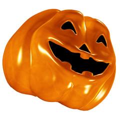 Smiling Halloween Pumpkin Jack O'lantern