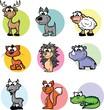 Постер, плакат: мультфильм животных