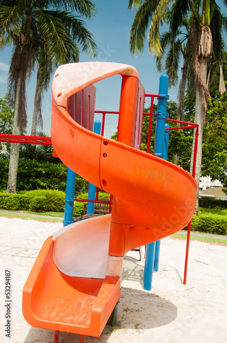 Playground of a pre-school