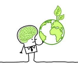 green brain & planet