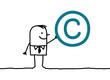 man & copyright