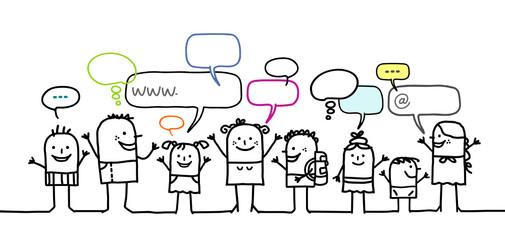 kids & social network