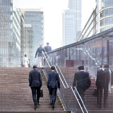 Business people in the office center. - Fine Art prints